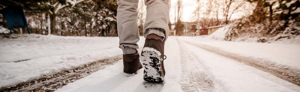 slips and falls winter personal injury